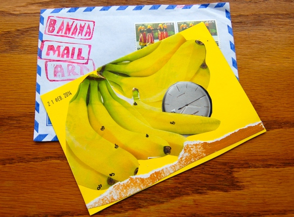 Banana Mail from Katerina Nikoltsou