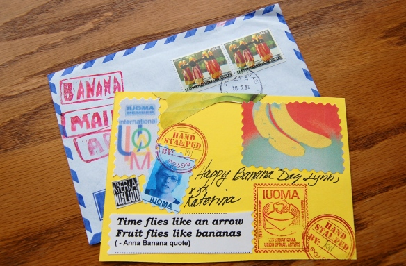 Banana Mail from Katerina Nikoltsou Side B