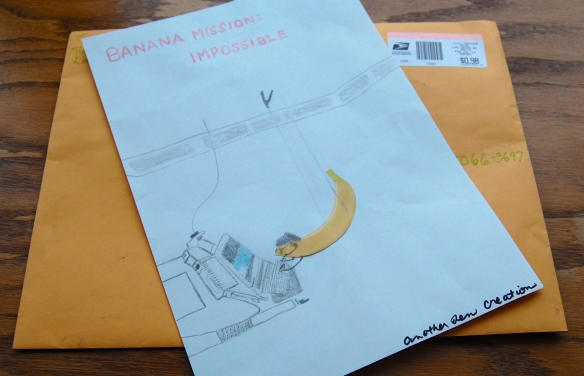 Banana Mail from Jennifer Phillips, USA