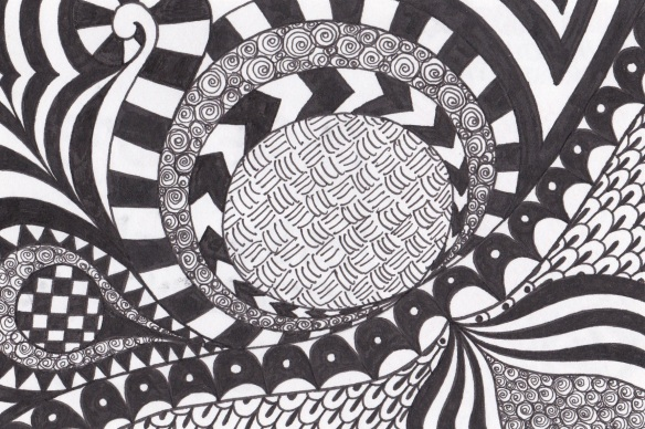 Zentangle Dream VI 029/365