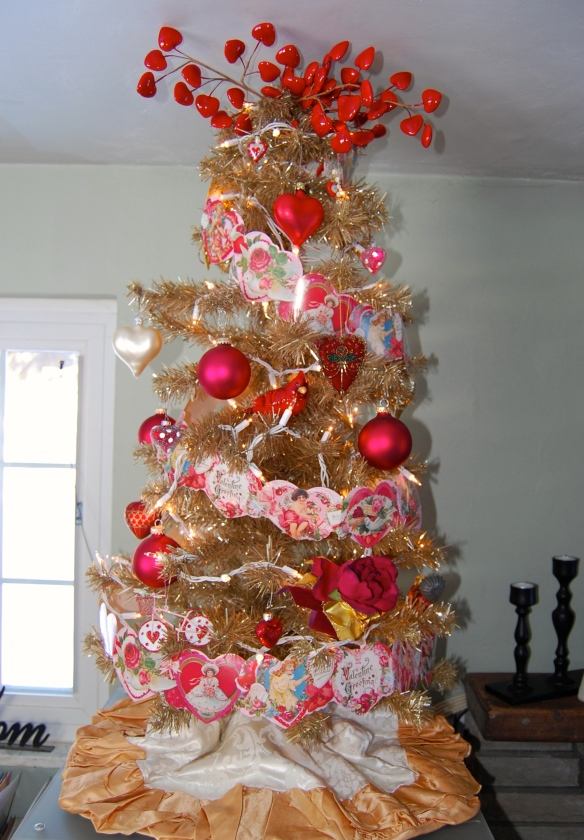 This year's Valentine Tree