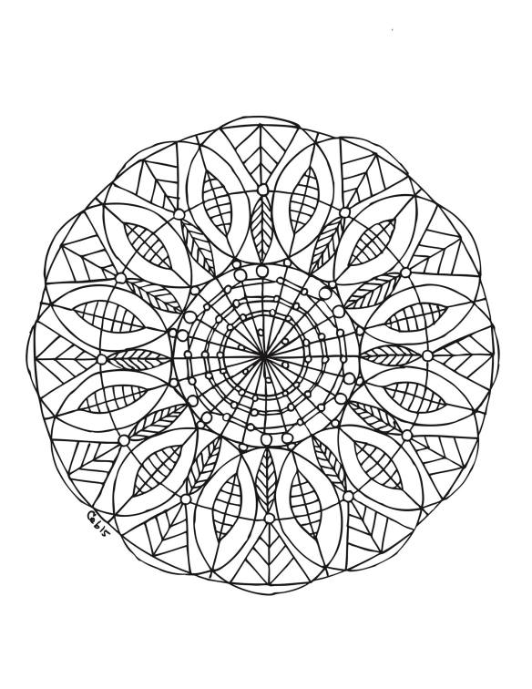 Mandala by Carrie Brummer